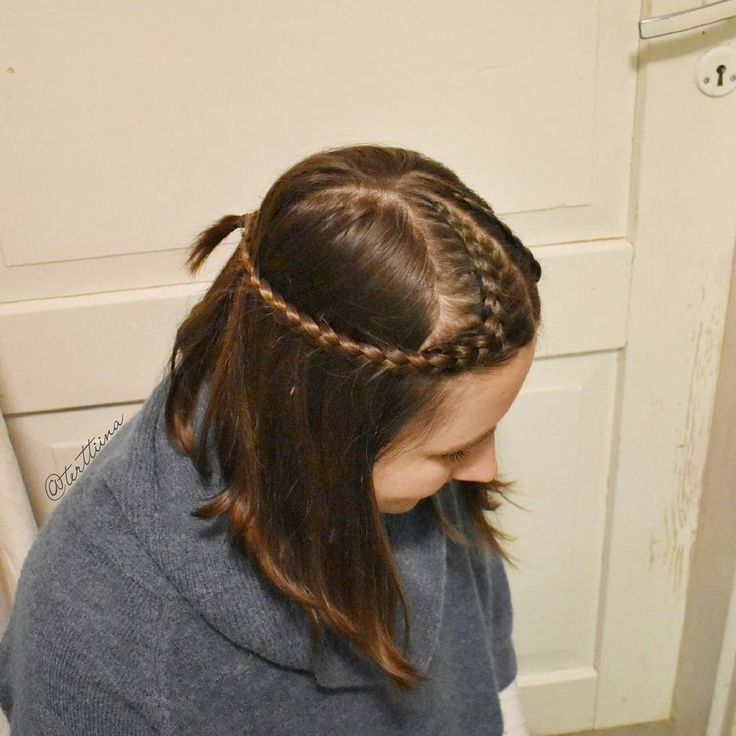 "113 tykkäystä, 16 kommenttia - Braids & Hair  by Terhi A (@terttiina) Instagramissa: ""Cornrows into braids tied back on my friend's new beautiful bob lenght hair! Inspo ofcourse from…"""