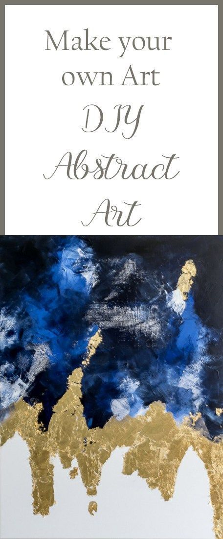 Make an Abstract Painting: Easy DIY Art                                                                                                                                                                                 More