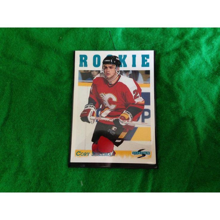 NHL Trading Card Calgary Flames Pinnacle RC 1995 Stillman