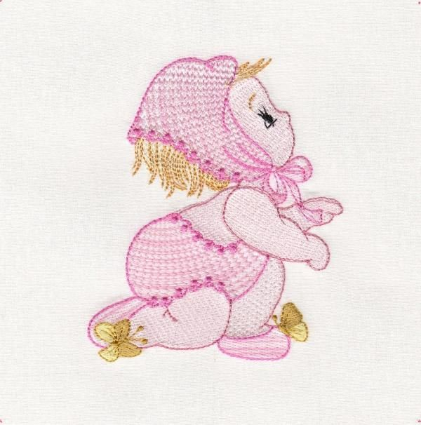 Best machine embroidery design baby nursery children