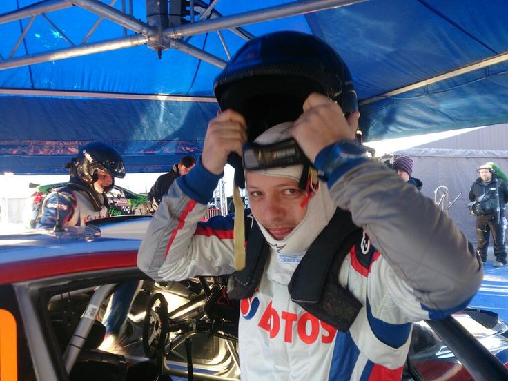 Twitter / voiceofrally: Maciek fitting in well with ...