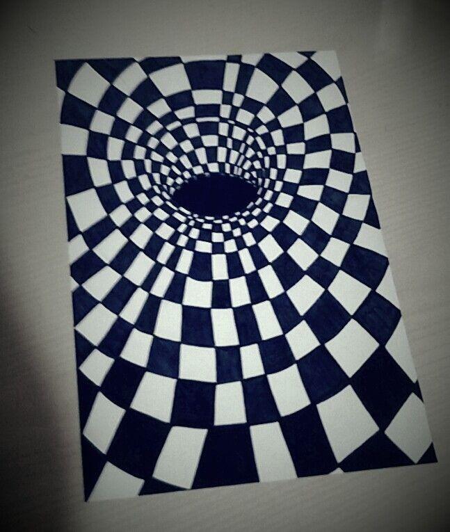 Effetti ottici, my drawing