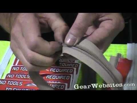 Flip nd Zip: fix broken zippers without tools
