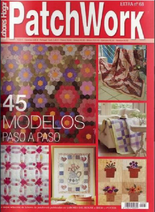Fabric and Sewing - Many patchwork and quilted sewing projects.