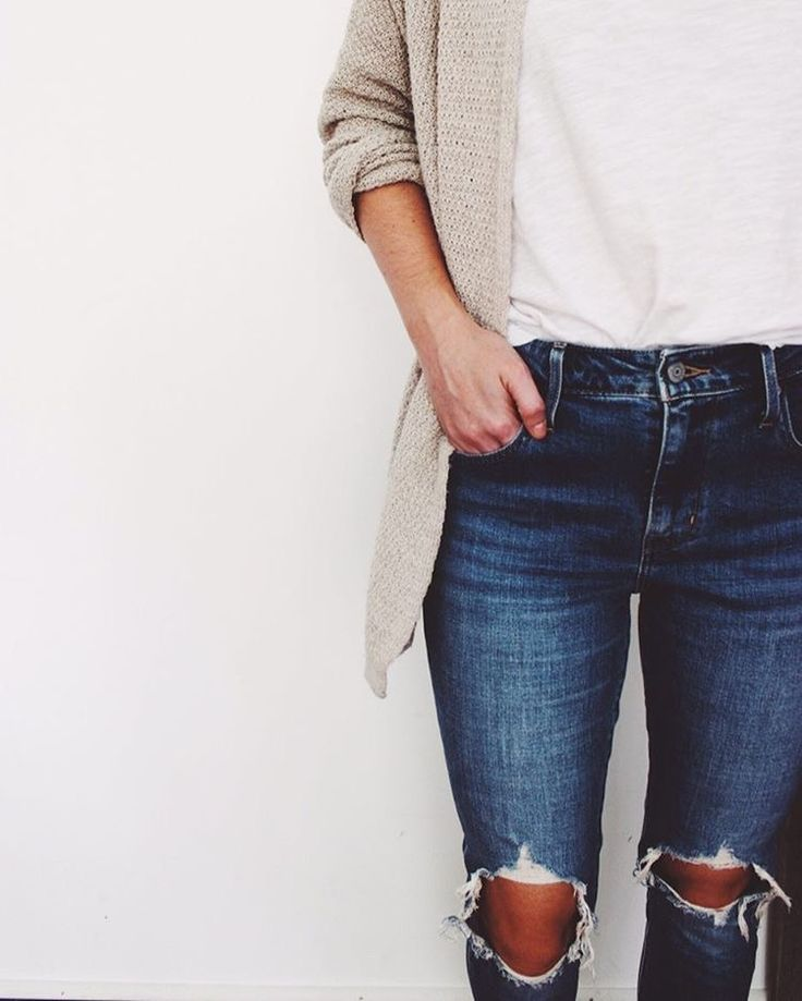 but no ripped jeans