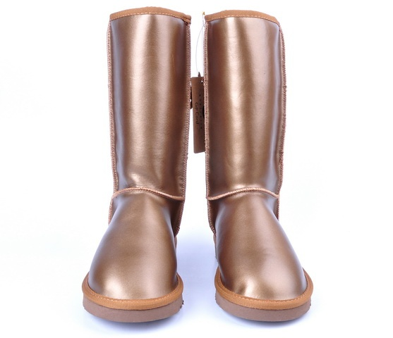 UGG Classic Tall Metallic Boots with Copper Women Boots