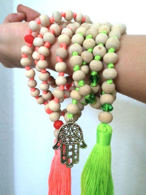The Butisattva Mala – Handmade in Bali from Tulsi Wood | Buti Yoga