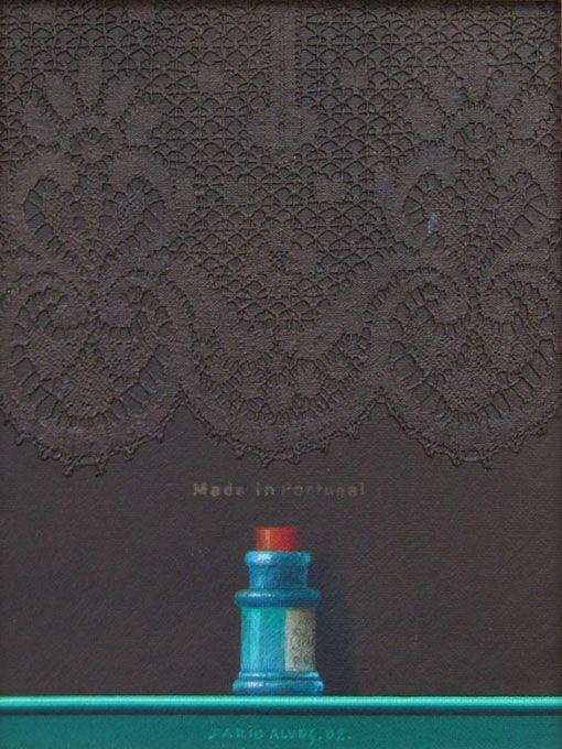 Made in Portugal/ acrílico sobre tela/ 18x24 cm./ 2002