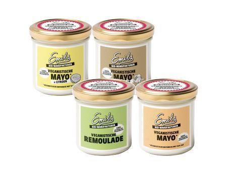 Veganistische mayonaise van Emils bij De Nieuwe Band