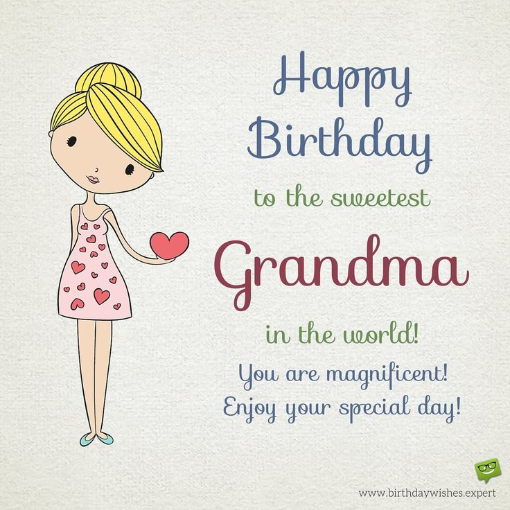 Happy Birthday, Grandma! Happy birthday grandma quotes