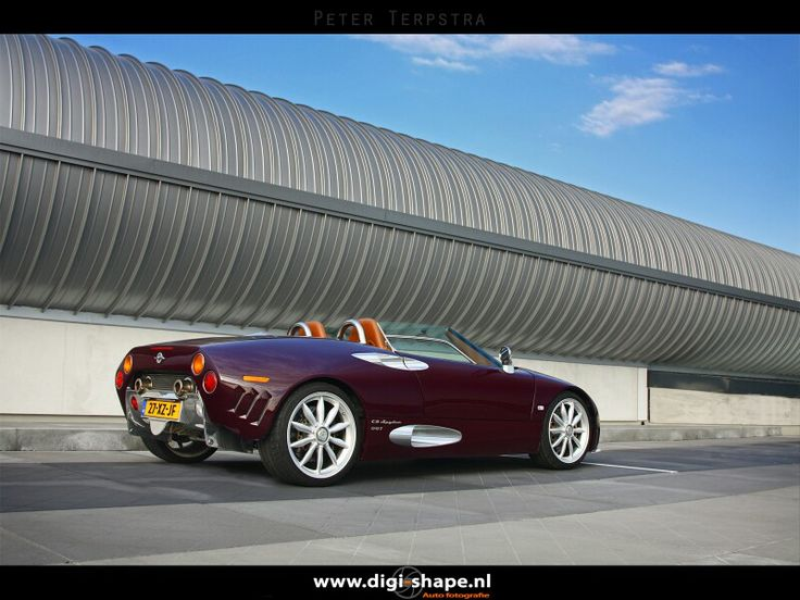 Spyker C8 spyder #007, photoshoot 2010, Utrecht The Netherlands.
