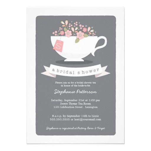 64 best Bridal Shower Tea Party images – Bridal Shower Tea Party Invites