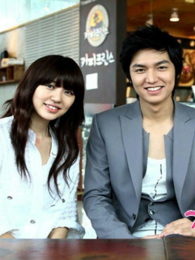 Lee Min Ho y Park Shin Ha en Personal taste