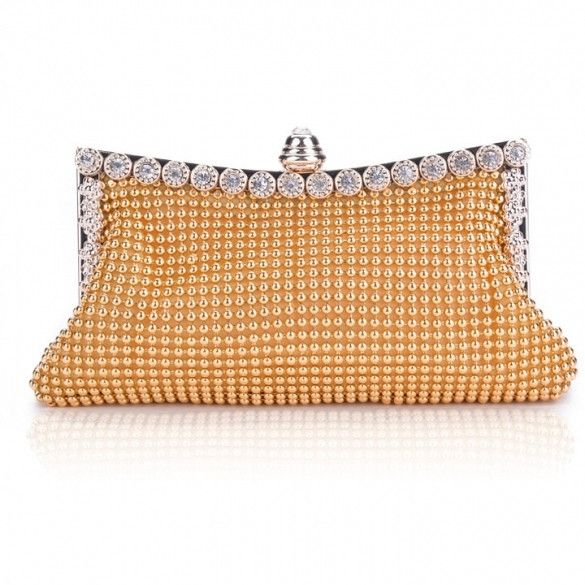 New Clutch Casual Womens Handbag Lady Party Crystal Evening Bags