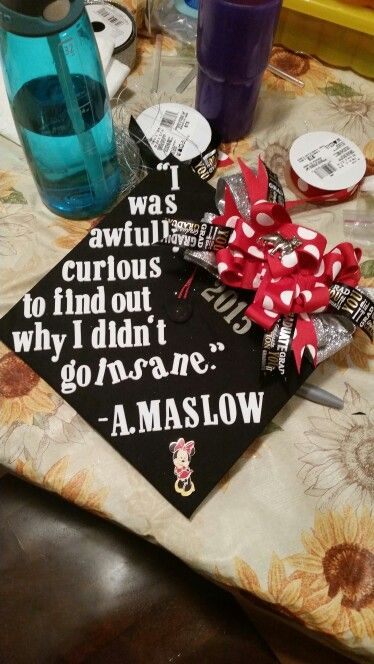 Graduation cap 2015 BS psychology