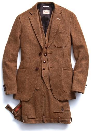 Tweed #suit