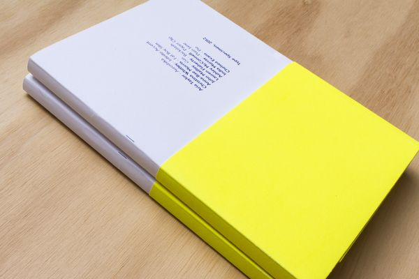 Monday Collective Type Specimen book by Ashley McConnell, via Behance