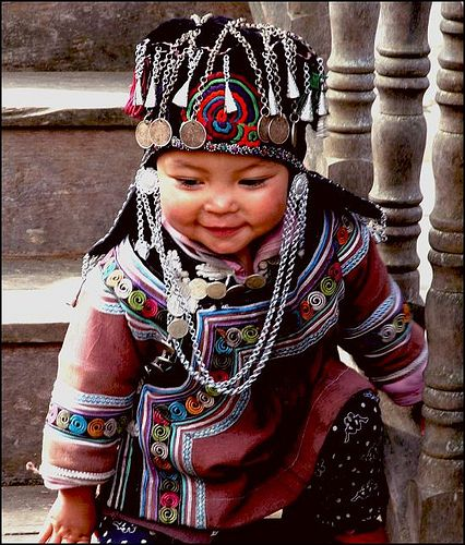 China | Portrait of a Mongolian Child © nannnna on Flickr