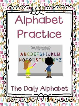 This packet provides simple practice for recognizing and naming upper and lowercase letters, and associating letters with their sounds. RF.K.1d Recognize and name all upper and lowercase letters of the alphabet.