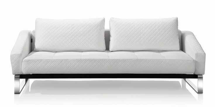 Amazing sofa Bed Contemporary Style Shot extraordinary sofa bed couch white color faux letaher upholstery