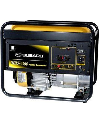 Subaru RGX2900 2900W 6.0 HP Gas Powered Industrial Generator $835 - http://www.gadgetar.com/subaru-rgx2900-2900w-6-0-hp-gas-powered-industrial-generator/