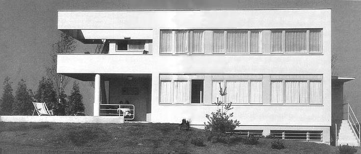 Villa Zaorálek, Ladislav Žák, Prague, Czechoslovakia 1932