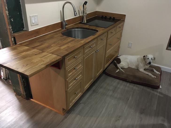 Folding Countertop Countertops New Kitchen Kitchen