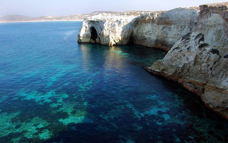 12 Firiplaka beach, Milos island