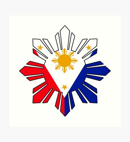 Philippine Sun Flag Art Print