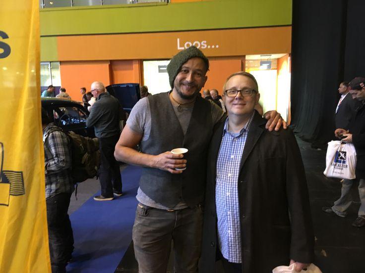 Me & Fuzz Townshend, CCS NEC Birmingham 13.11.16
