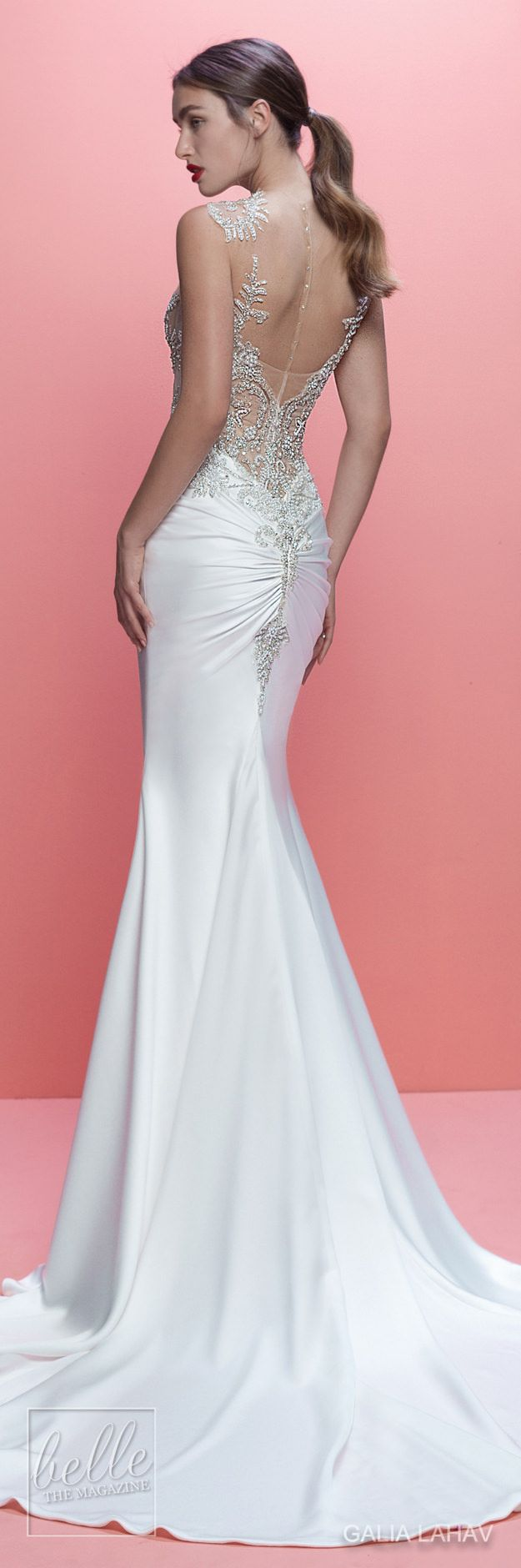 230 best Back Views and Skirts images on Pinterest | Bridal gowns ...