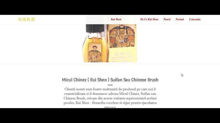 Micul Chinez - Remediu Natural Pentru Ejaculare Precoce ( Chinese Brush,...