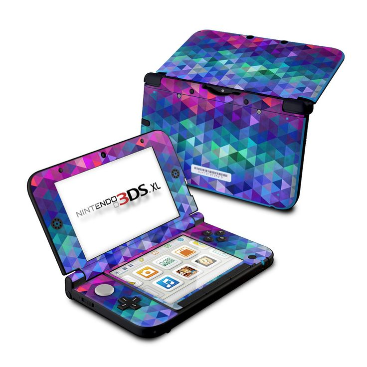 DecalGirl Nintendo 3DS XL skins feature vibrant full-color artwork that helps protect the Nintendo 3DS XL from minor scratches and abuse without adding any bulk or interfering with the device's operation.   This skin features the artwork Charmed by FP - just one of hundreds of designs by dozens of talented artists from around the world.