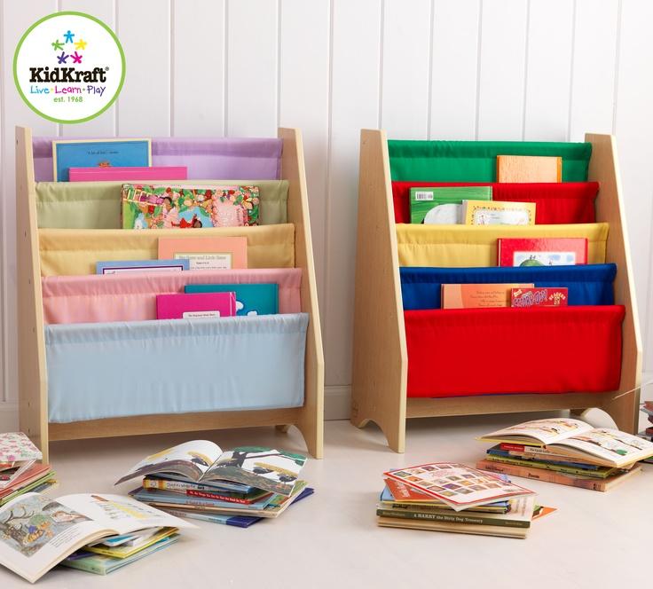 En praktisk och fin bokhylla från tillverkaren Kidkraft. Bokhylla i slingmodell: http://www.smultronbyn.se/inredning-offentlig-miljo/forvaringsmobler/15