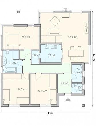 projekt domu Melody