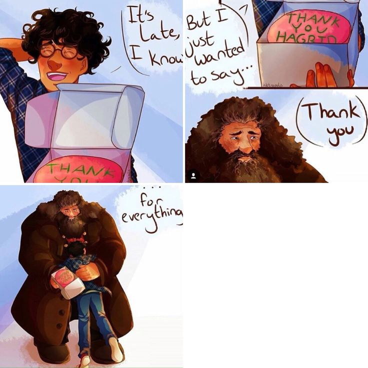 Love this so much! (My little fluffy Hagrid doesn't get enough credit!)