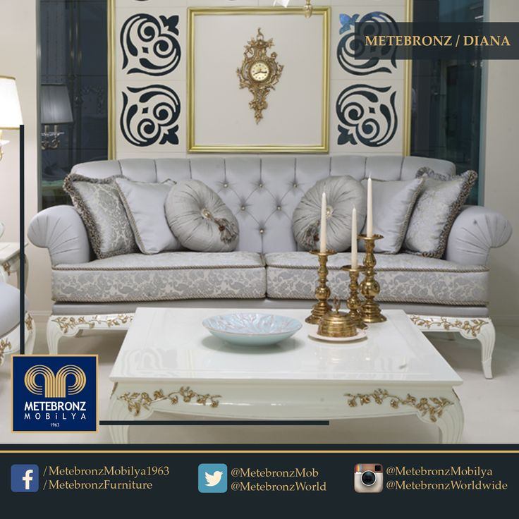 """""""What on earth could be more luxurious than a sofa, a book and a cup of coffee?"""" said Anthony Trollope, the famous novelist of the Victorian era. Would you like to take a sip from your coffee and travel within the pages of a book on this elegant sofa? www.metebronz.com #Metebronz"""