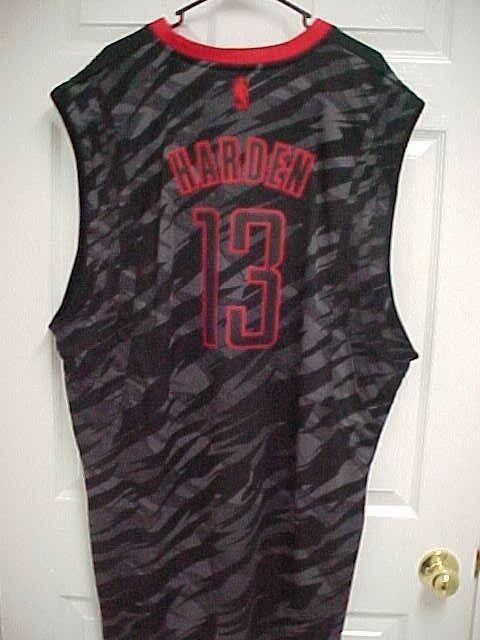 designer fashion 09946 54c46 JAMES HARDEN 13 Houston Rockets Black Limited Edition Men's ...