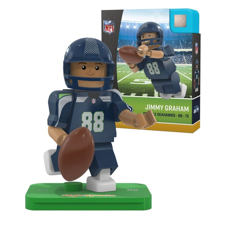 NFL Seattle Seahawks Gen4 Limited Edition Jimmy Graham Mini Figure
