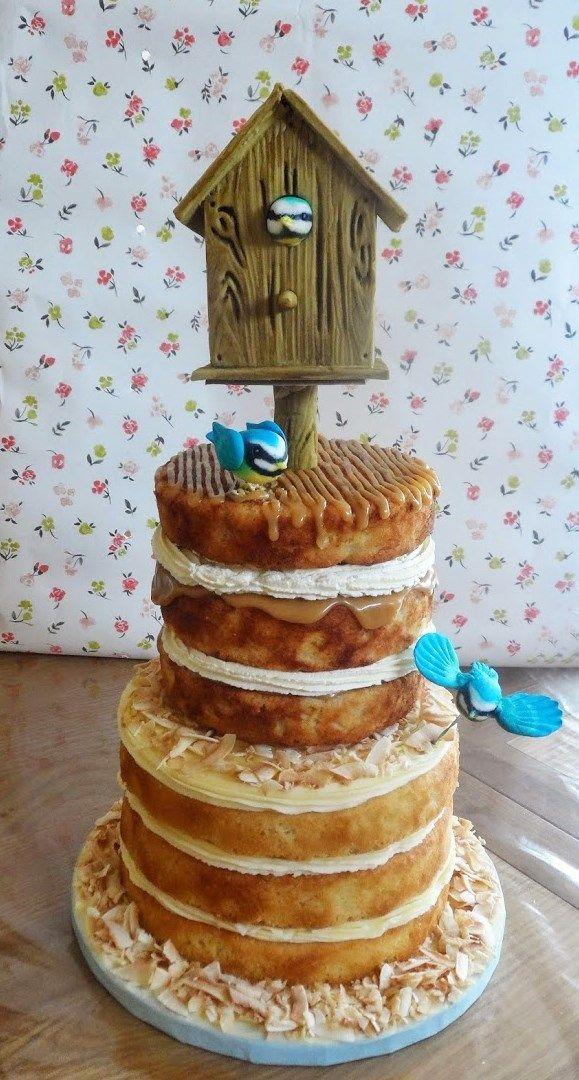 Birdhouse Celebration Cake   docrafts.com