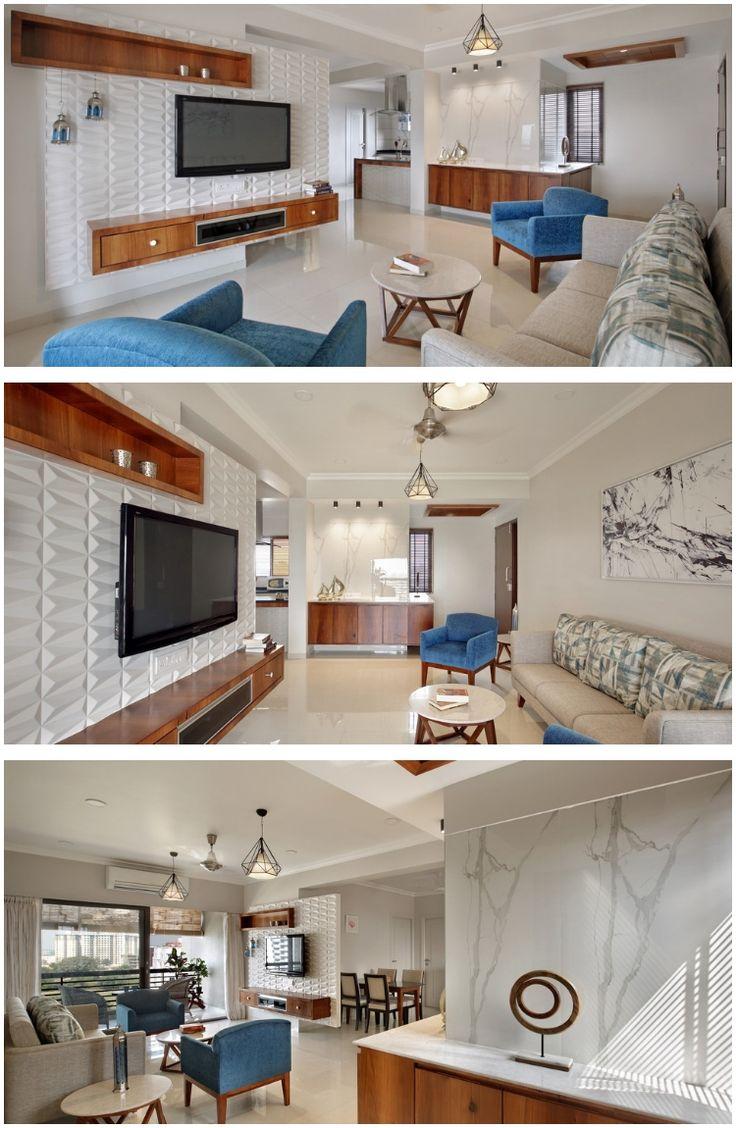2 Bhk Interior Design Hall Interior Design Flat Interior Design