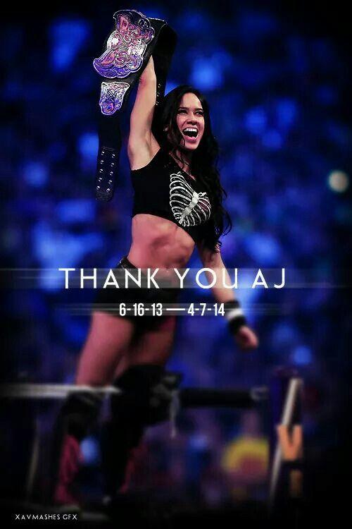 Divas Champ!!! #AJLee #WWEDiva