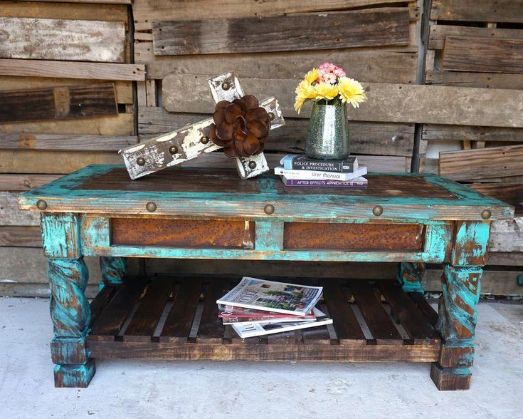El Dorado Coffee Table - Sofia's Rustic Furniture