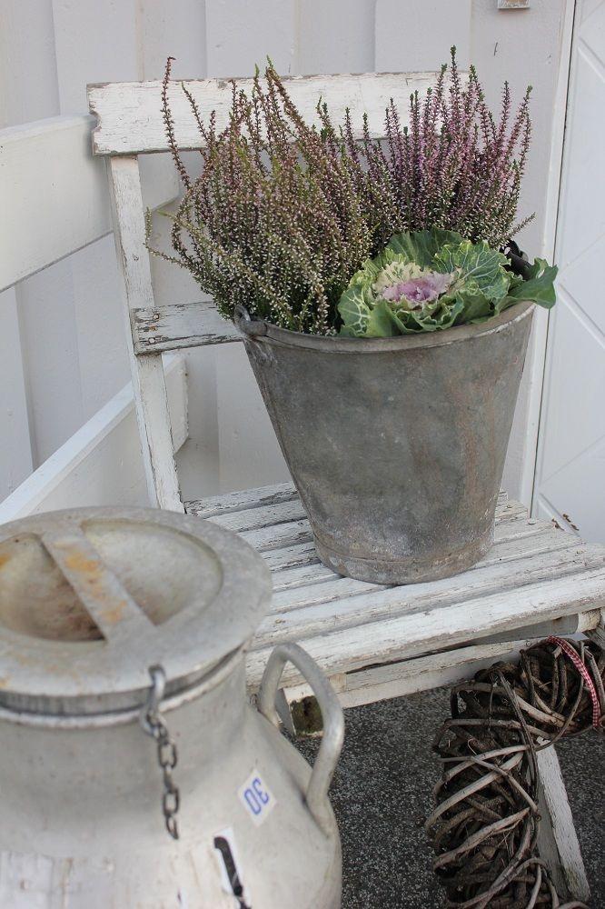 Fall pot garden design and flowers pinterest dream for Fall balcony decorating ideas