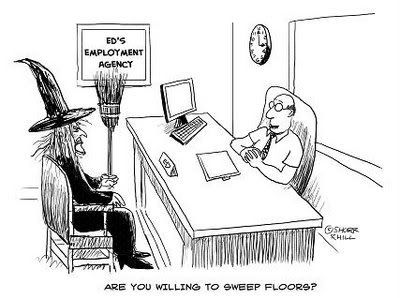 Funny Witch Cartoon