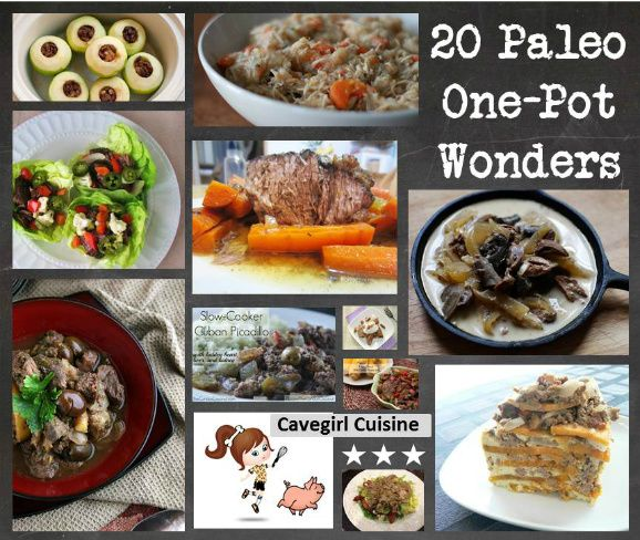20 Paleo One-Pot Wonders #slowcooker #crockpot