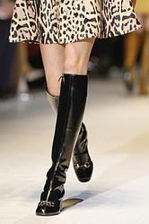 Moda low cost autunno inverno 2014 2015: stivale cuissard anni '60 stile Gucci | A-I 14-15 |