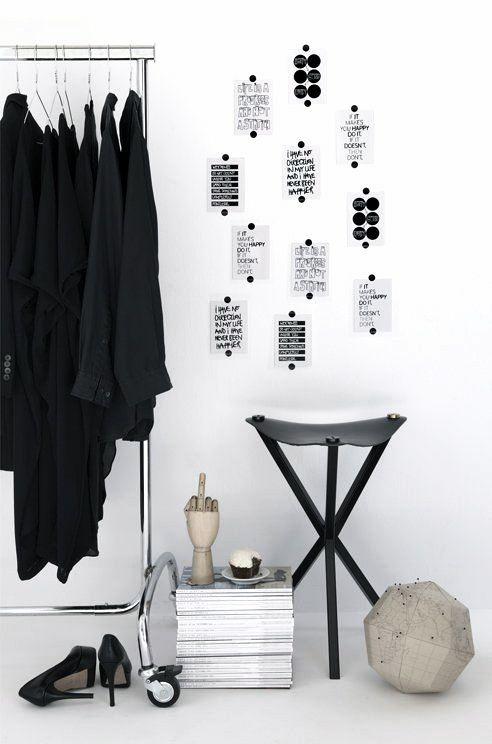 Via Vosges Paris | Bedroom | Black and White | HAY Hand