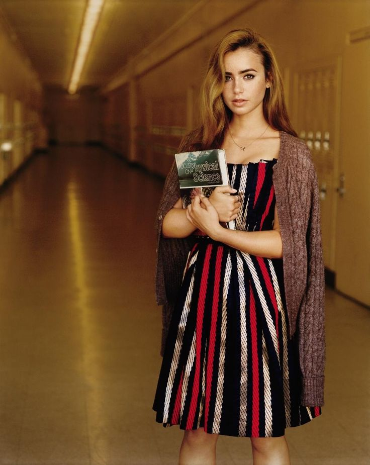 The Best Marc by Marc Jacobs Moments in Teen Vogue History: Lily Collins, October 2010
