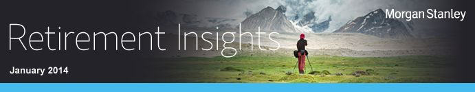 Morgan Stanley Smith Barney Retirement Insights - Catch-up contributions, Ways to maximize Social Security benefits, Preparing to take required minimum distributions